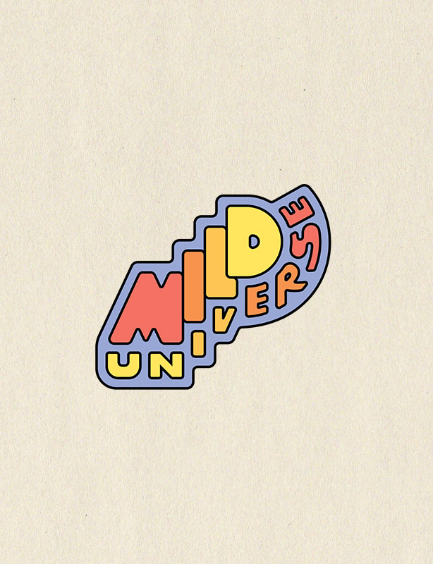 Mild Universe logo design project preview